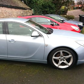 Silver Vauxhall Insignia - £4995